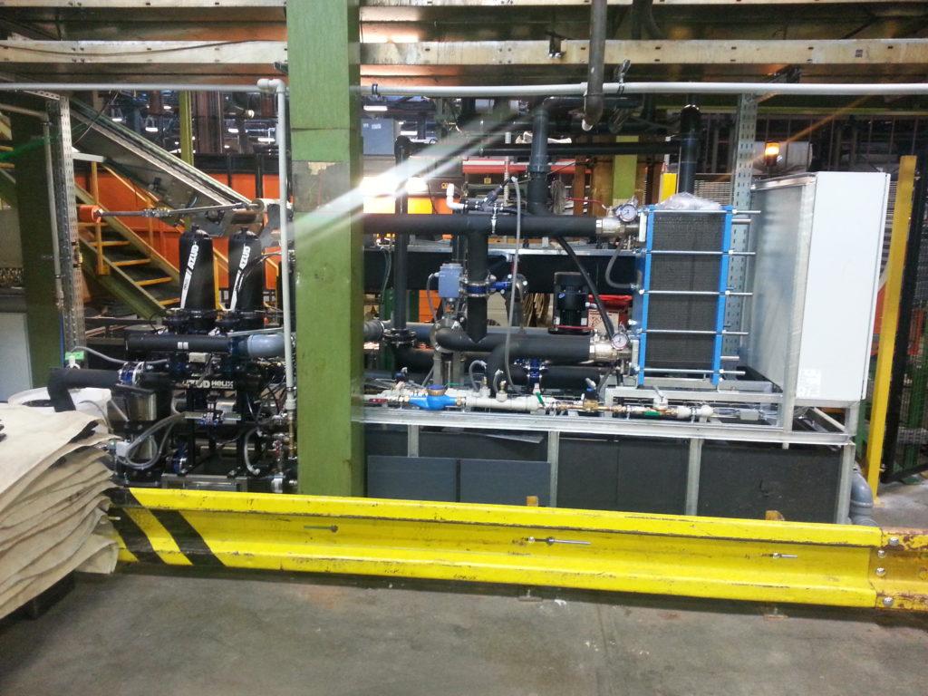 Azud zakázková výroba automatických filtrů