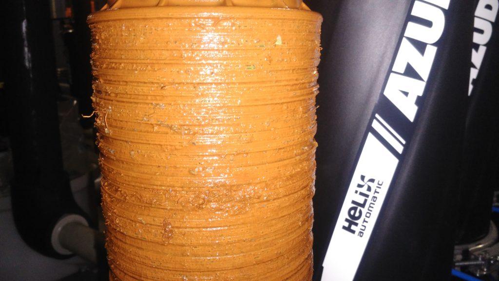 Zanesení diskového filtru AZUD HELIX